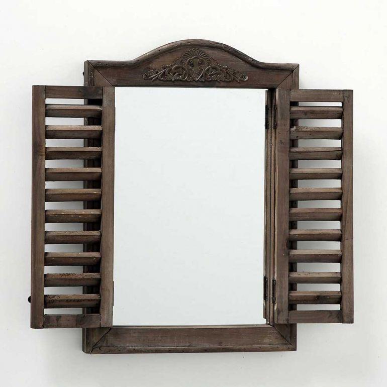 amenajare feng shui oglinda rama lemn